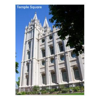 Carte Postale Temple (LDS) mormon à Salt Lake City, Utah