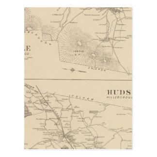 Carte Postale Temple, le Hudson