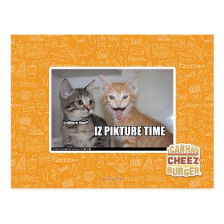 Carte Postale temps de pikture d'iz