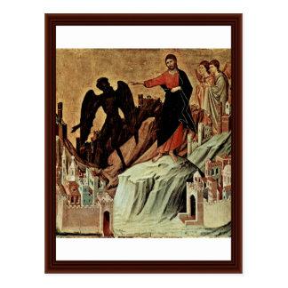 Carte Postale Tentation du Christ sur la montagne