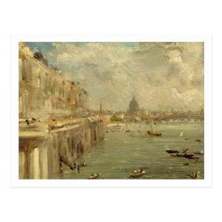 Carte Postale Terrasse de Chambre de Somerset du pont de