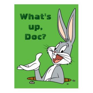 Carte Postale Terrier de lapin de ™ de BUGS BUNNY