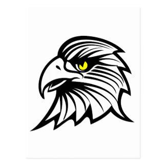 Carte Postale Tête d'aigle