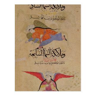 Carte Postale Tête des anges du sixième ciel et de la tête