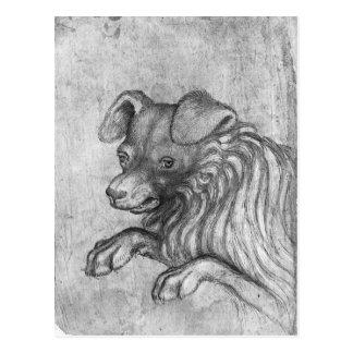 Carte Postale Tête d'un chien, le de l'album de Vallardi