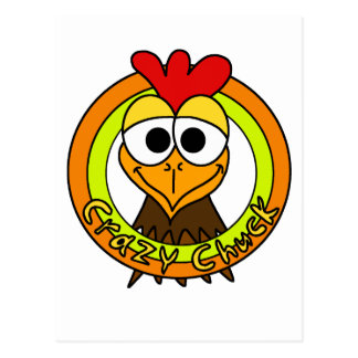 Carte Postale Tête folle de poulet de mandrin