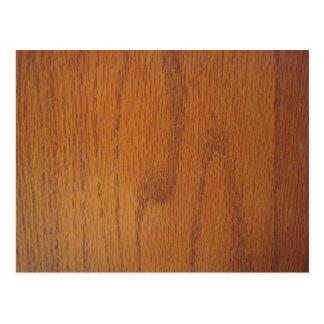Carte Postale Texture en bois chaude de grain