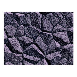Carte Postale Texture grise de mur en pierre