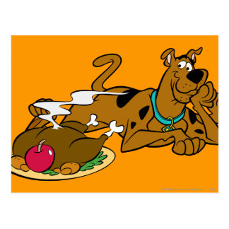 Carte Postale Thanksgiving 06 de Scooby