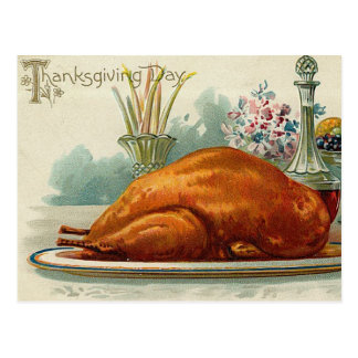 Carte Postale Thanksgiving vintage Turquie