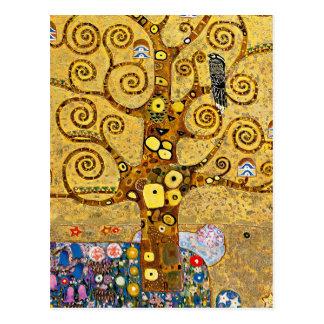 "Carte Postale "" The Tree of Life "" , Gustav Klimt"