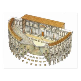 Carte Postale Théâtre romain