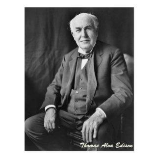 Carte Postale Thomas Alva Edison