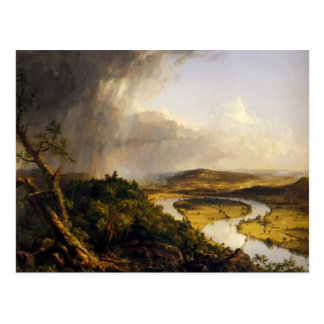 Carte Postale Thomas Cole l'Oxbow, le fleuve Connecticut