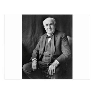 Carte Postale Thomas Edison