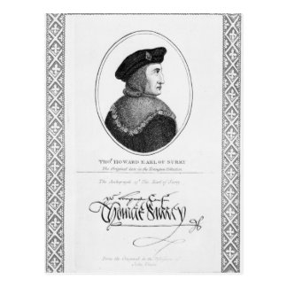 Carte Postale Thomas Howard