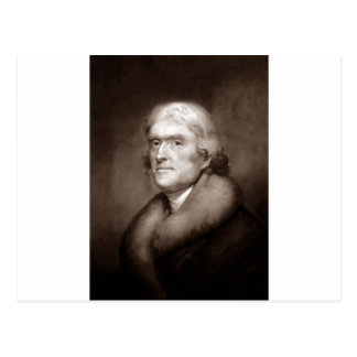 Carte Postale Thomas Jefferson