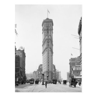 Carte Postale Times Square, 1908