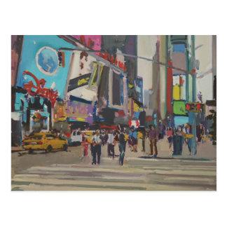 Carte Postale Times Square 2012