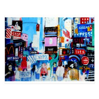 Carte Postale Times Square II