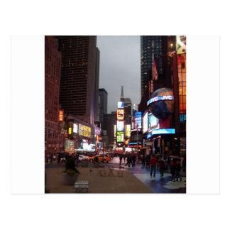 Carte Postale Times Square New York