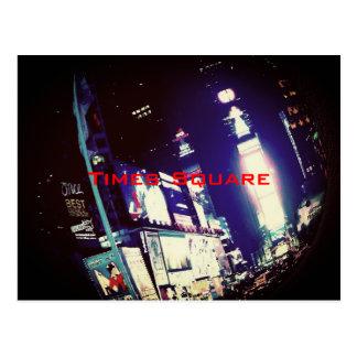 Carte Postale Times Square New York City