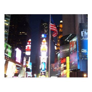 "Carte Postale ""Times Square, New York City, Etats-Unis"""