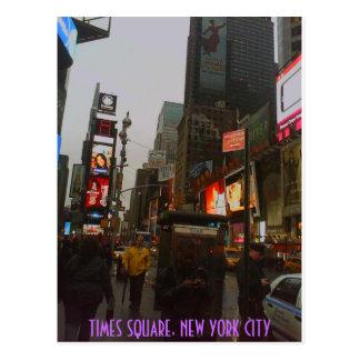 CARTE POSTALE TIMES SQUARE NYC