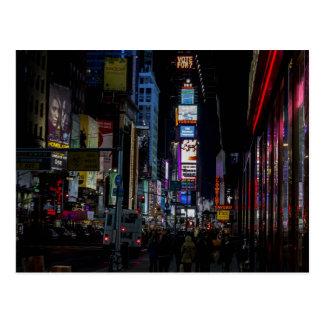 Carte Postale Times Square, NYC