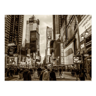 Carte Postale Times Square, photo de New York City
