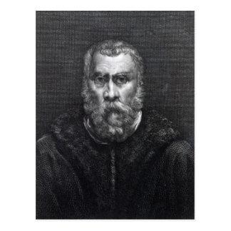 Carte Postale Tintoretto, gravé par Delaistre