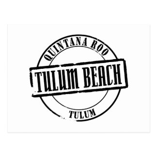 Carte Postale Titre de plage de Tulum