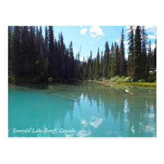 Carte Postale Toile verte de lac