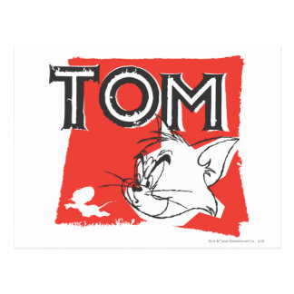 Carte Postale Tom et chat fou de Jerry