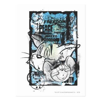 Carte Postale Tom et Jerry Grimey