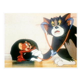 Carte Postale Tom et Jerry Stethescope