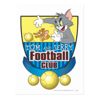 Carte Postale Tom et le football de Jerry (le football) 5