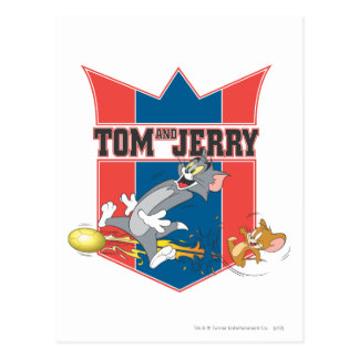 Carte Postale Tom et le football de Jerry (le football) 7