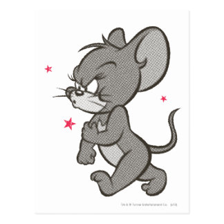 Carte Postale Tom et souris dure 1 de Jerry
