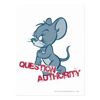 Carte Postale Tom et souris dure 2 de Jerry