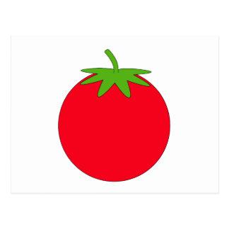 Carte Postale Tomate rouge