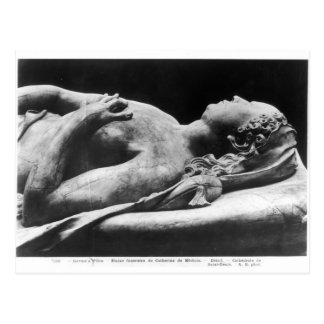 Carte Postale Tombe de Catherine de Medici et de Henri II