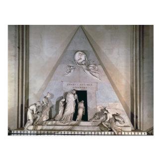 Carte Postale Tombe de l'archiduchesse Maria Christin