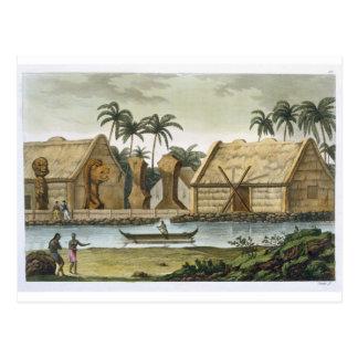 Carte Postale Tombe de Tamahamah chez Kaiakakooa, îles de
