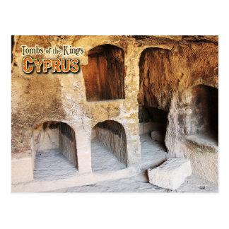 Carte Postale Tombes des rois, Paphos, Chypre