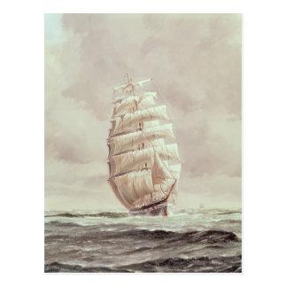 Carte Postale Tondeuse anglaise de laine