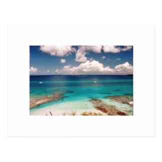 Carte Postale Tortolla BVI, des Caraïbes