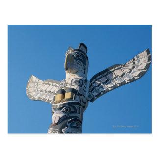 Carte Postale Totem Polonais