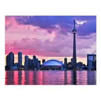 Carte Postale Tour de NC : Vue d'île centrale Toronto