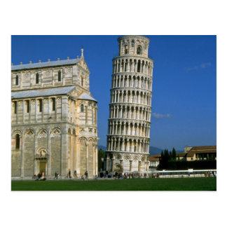 Carte Postale Tour de Pise, Italie